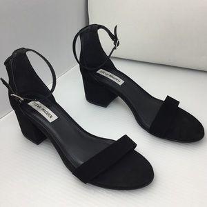 Steve Madden Shoes - Steve Madden Irenee Black Suede Sandals
